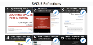 SVCUE Reflections