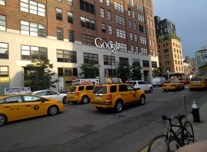 Google NYC as captured by Glass.