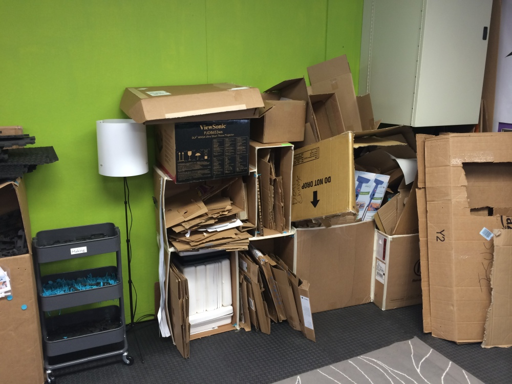 Making a Makerspace: #SVGives update edition (6/6)